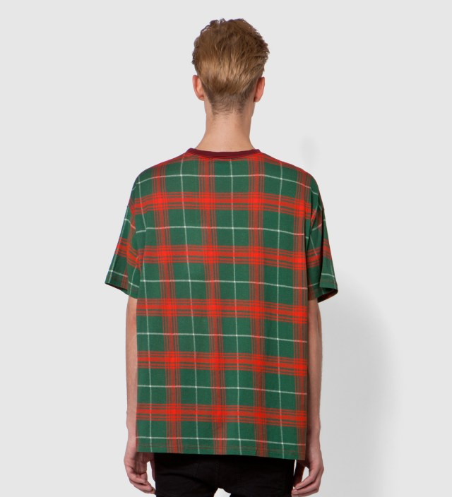 Red Tartan Big T-Shirt