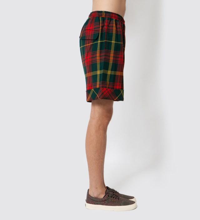 Red Tartan Shorts