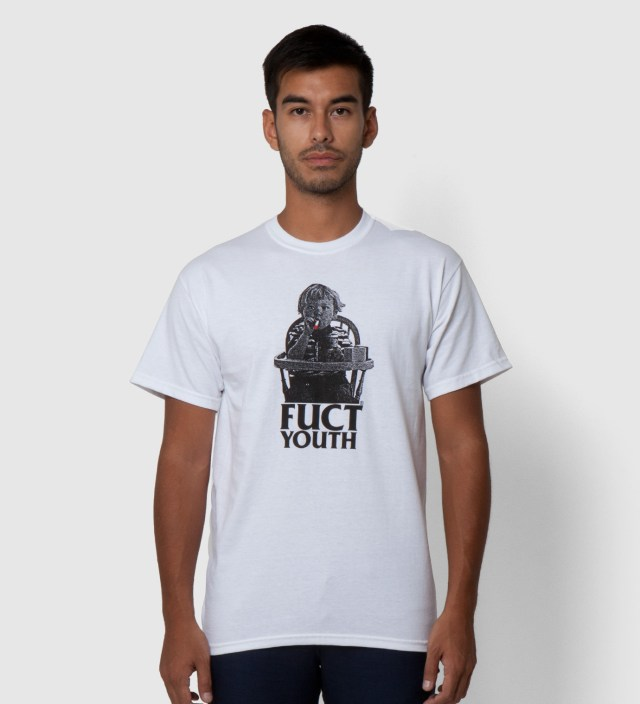 White Fuct Youth II T-Shirt