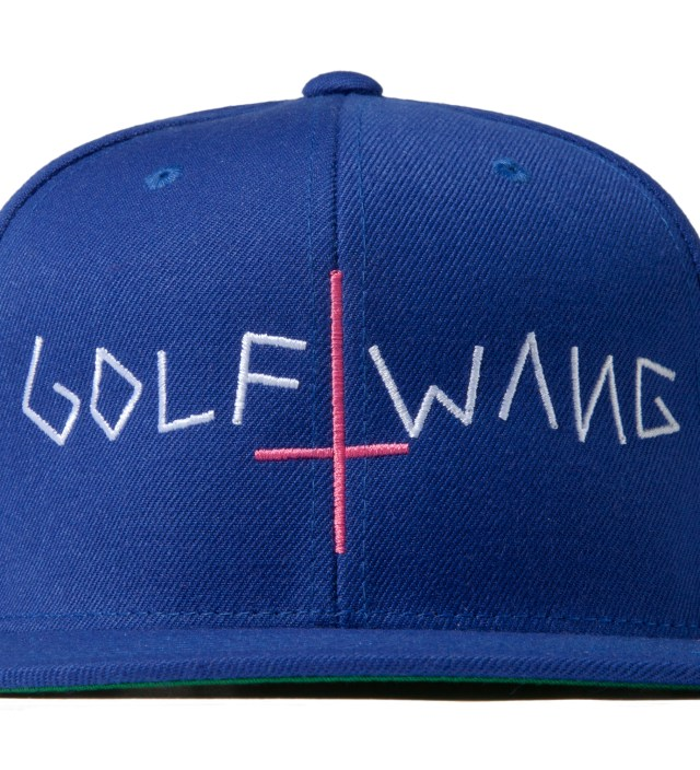 Royal Blue Golf Wang Snapback Cap