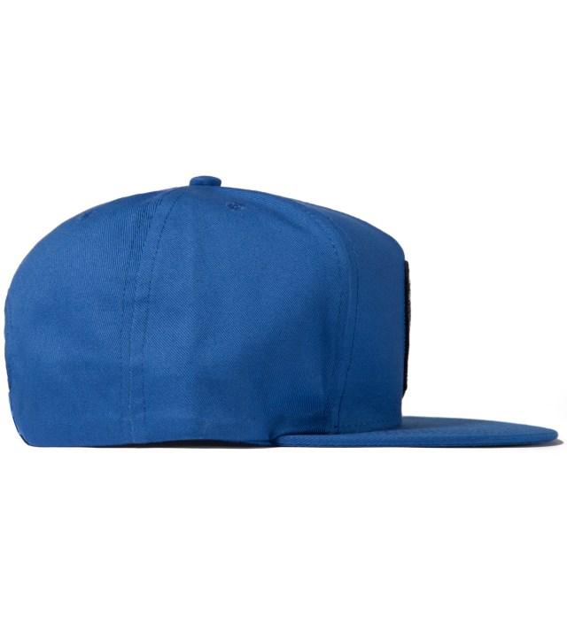 Blue Plane Crash Snapback Cap