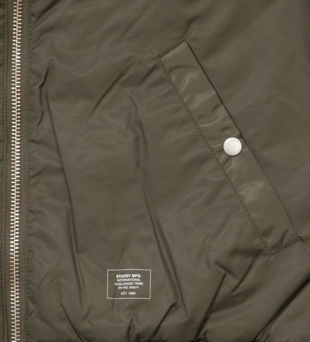 Olive MA1 Jacket