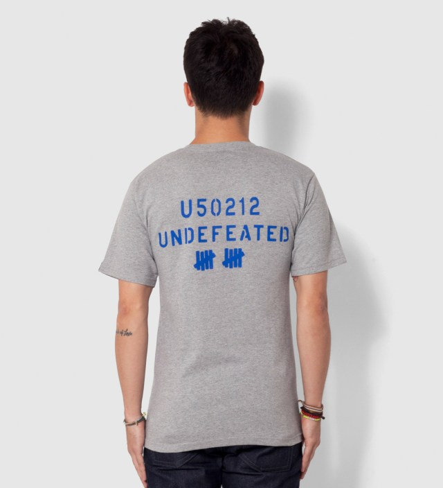 Heather Grey SS U50212 T-Shirt