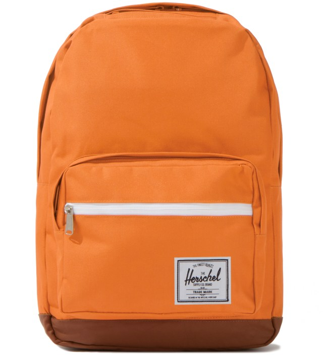 Orange Pop Quiz Backpack