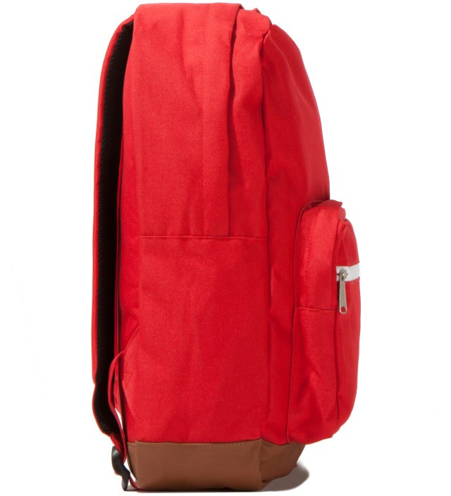 Red Pop Quiz Backpack