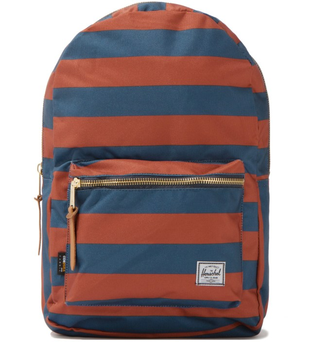Navy/Rust Settlement Backpack