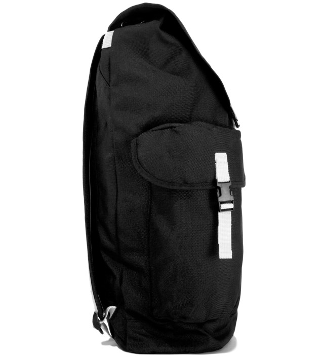 Black Double Strap Backpack