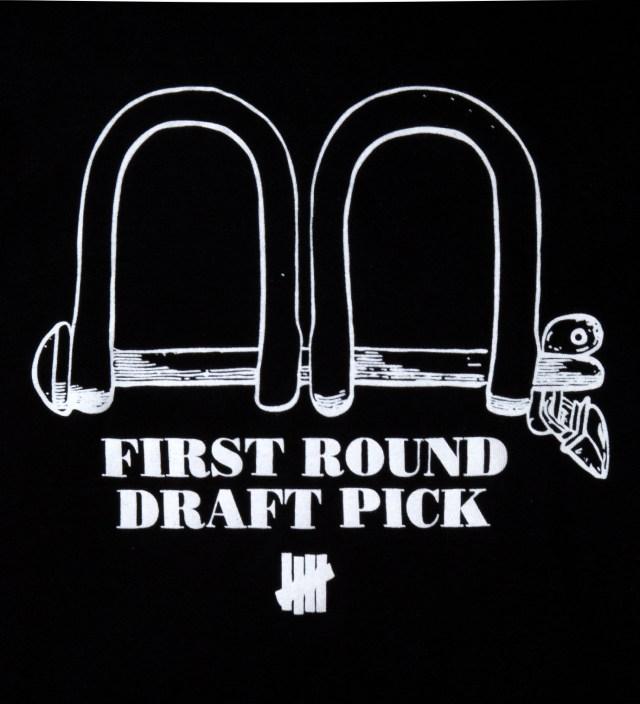 Black SS First Round Pick T-Shirt