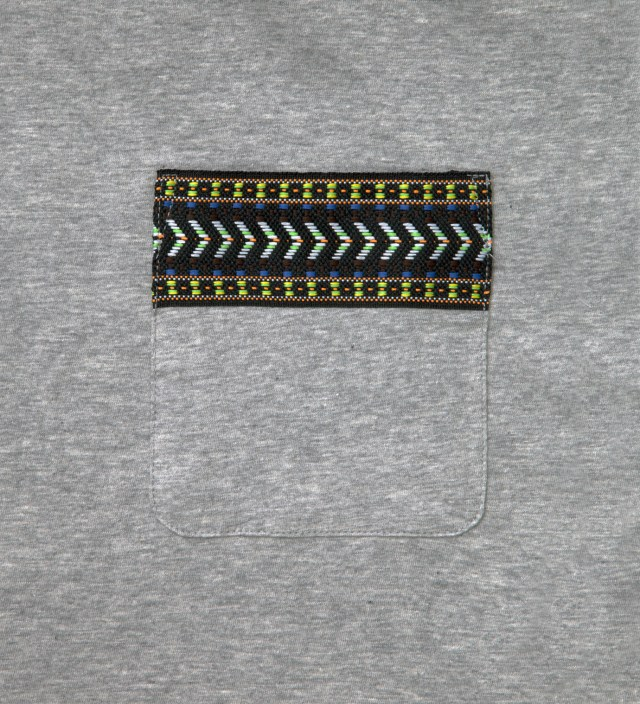 Grey Yaka Pocket T-Shirt