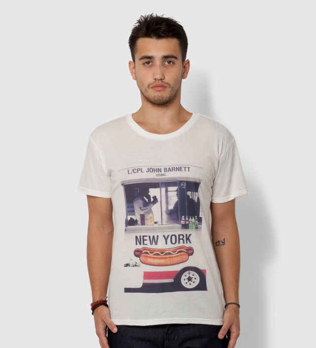 White Hot Dog T-Shirt