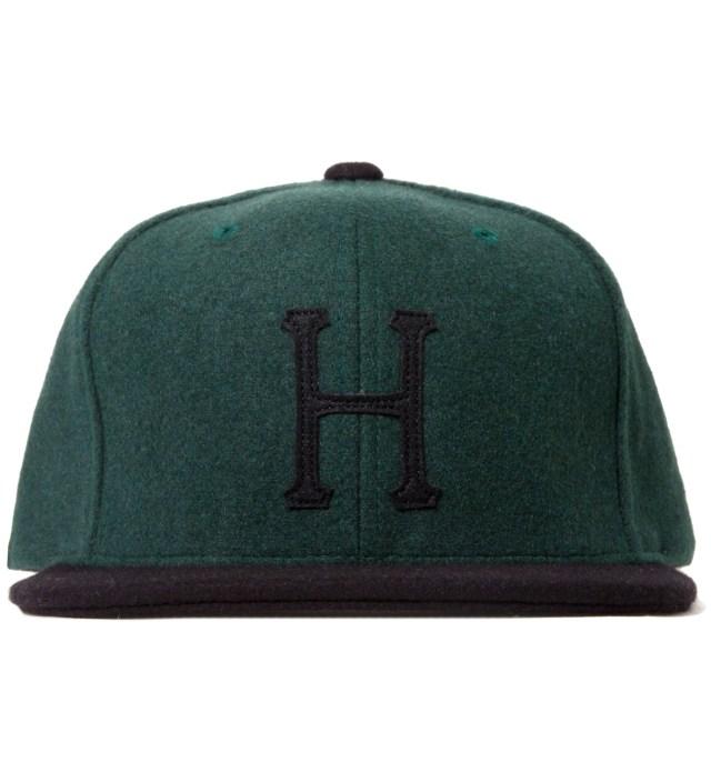 Hunter/Green Classic H Wool Starter Cap