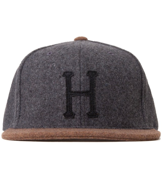 Heather Grey/Brown Classic H Wool Starter Cap