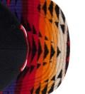 Chicago Bulls Red Navajo Strap-Back Cap