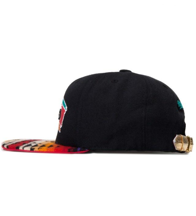 San Antonio Spurs Red Navajo Strap-Back Cap