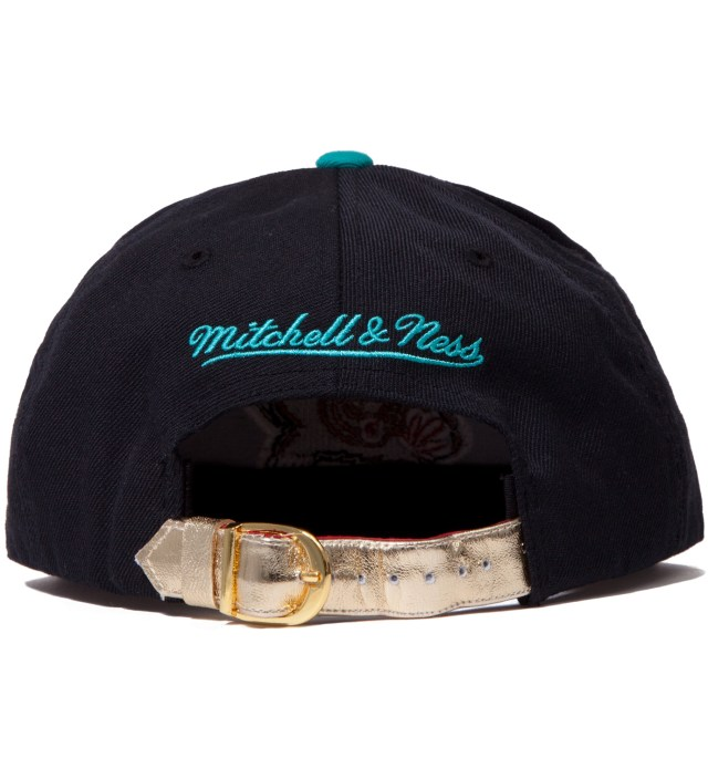 Vancouver Grizzlies Teal Navajo Strap-Back Cap