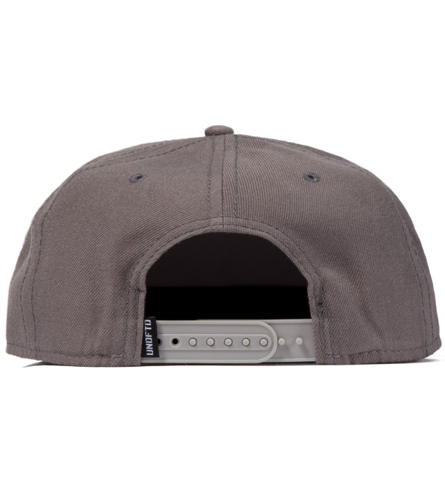 Heather Grey 5 Strike Snapback Ballcap