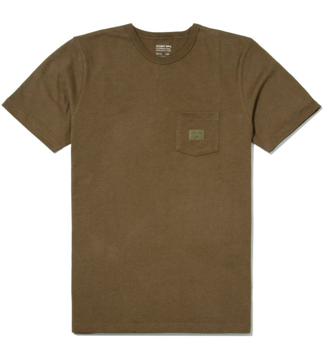 Green Heather Basic Issue Crew T-Shirt