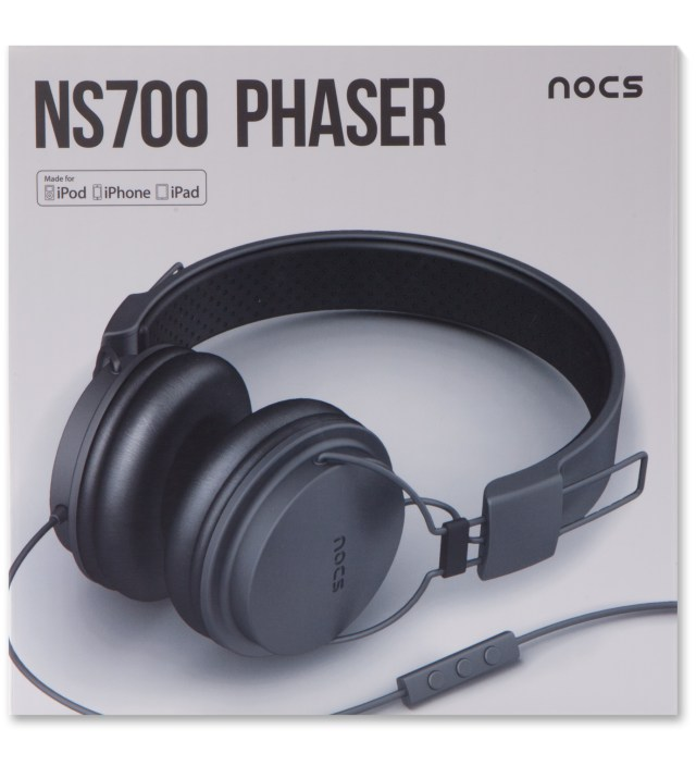 Grey NS700 Phaser Headphones