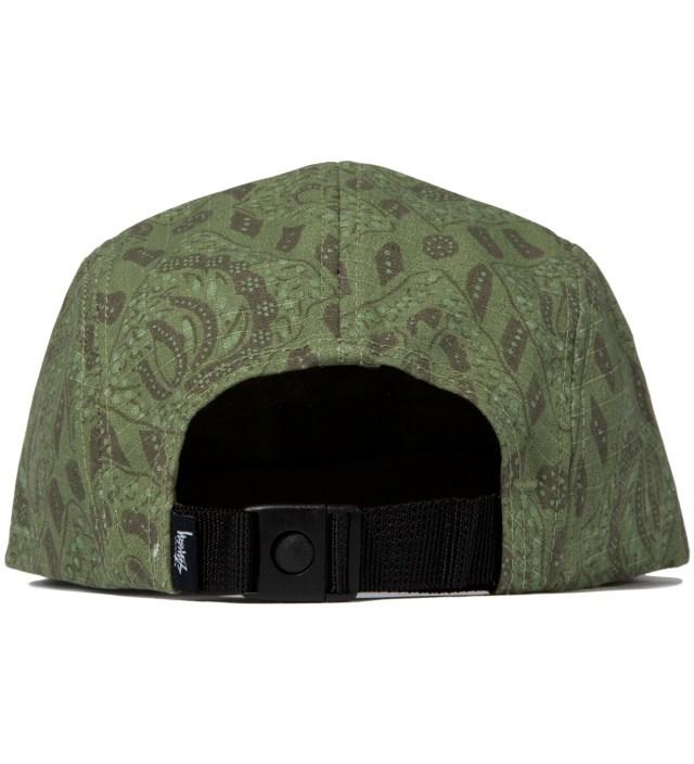 Olive Bali Camp Cap