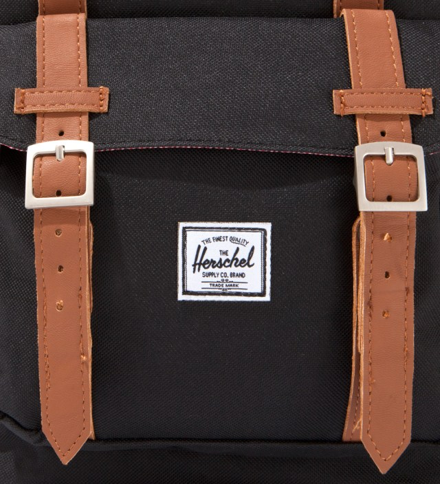 Black Little America Backpack