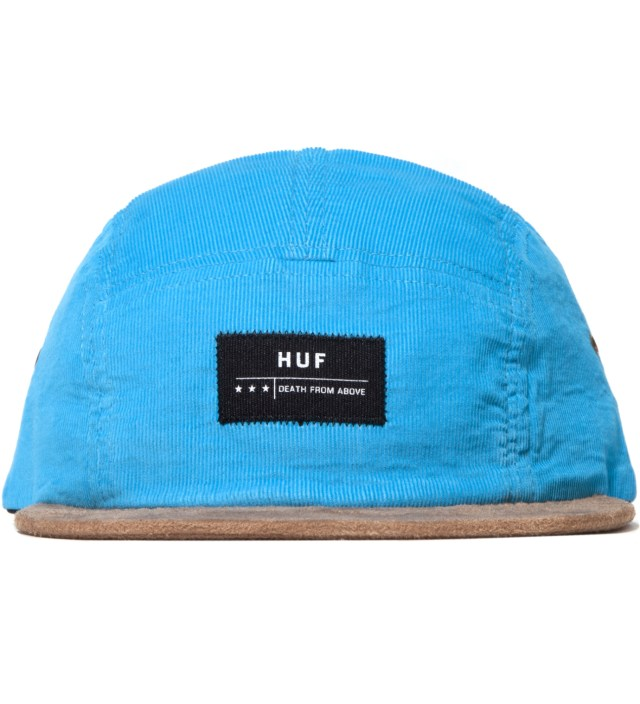 Turquoise Death From Above Cord Volley Cap