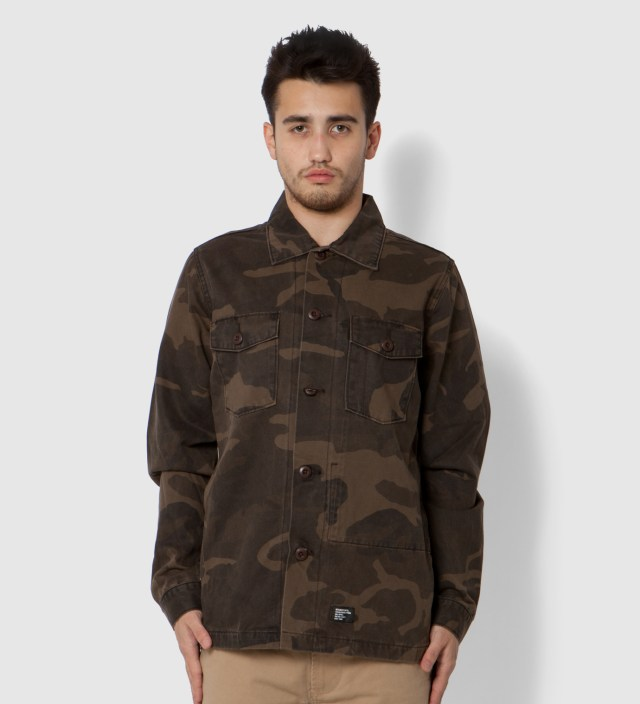 Brown Camo Troops Shirt