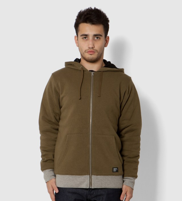 Green Heather Training Day Zip Up