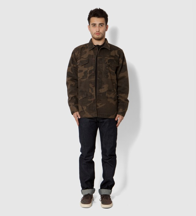 Brown Field Issue Jacket