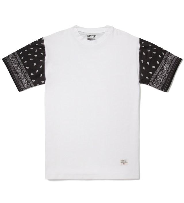 White/Black Print Mr. Bandana Immediate T-Shirt