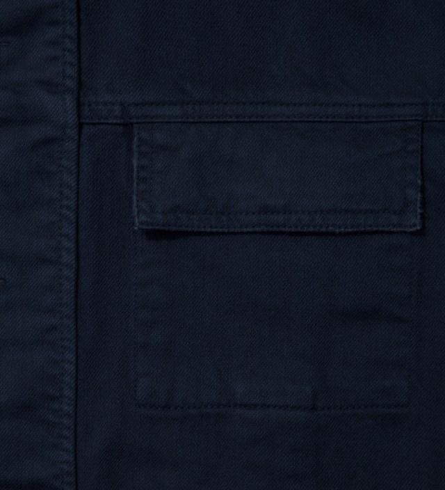 Navy Denim Jacket