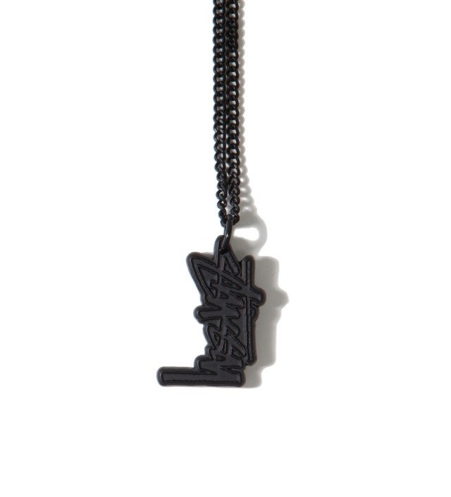 Black Stock Link Necklace
