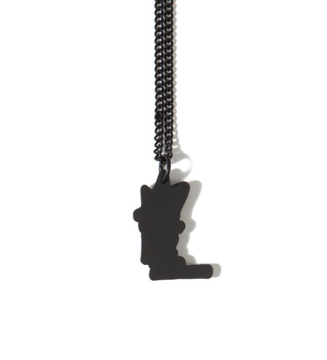Black Stock Link Necklace