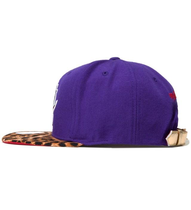 Toronto Raptors Cheetah Strap-Back Cap