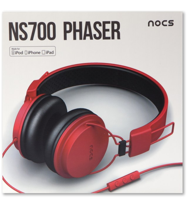 Red NS700 Phaser Headphones