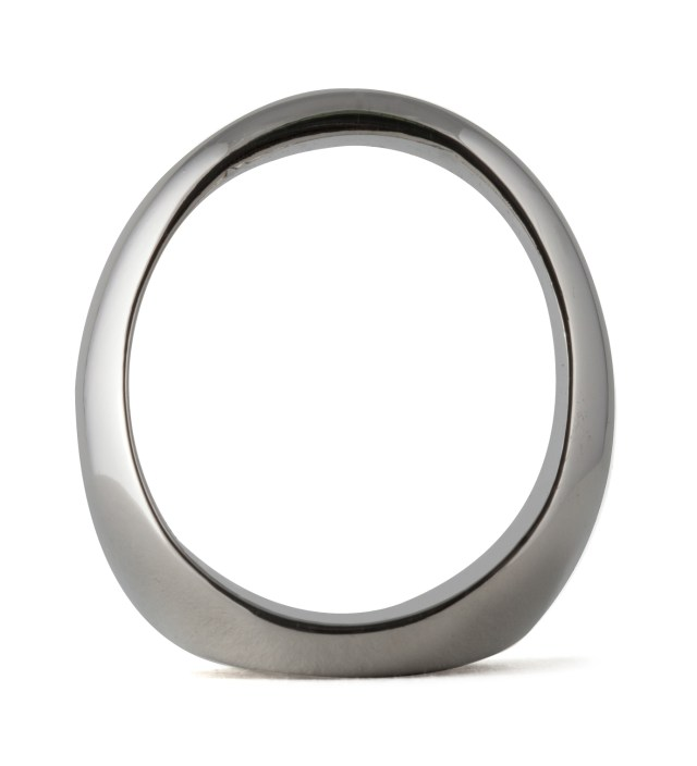 Silver Big S Ring
