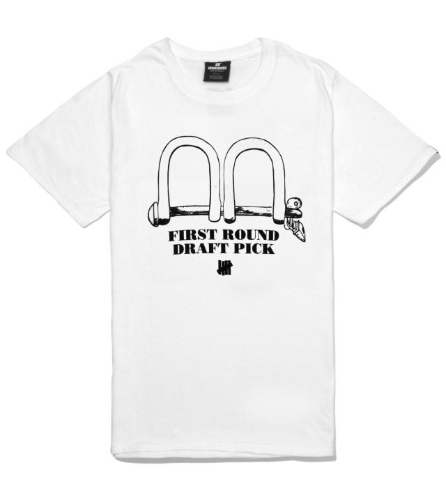 White SS First Round Pick T-Shirt