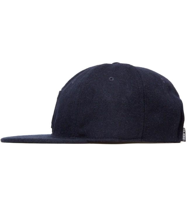 Navy Raised U Ebbets Ballcap