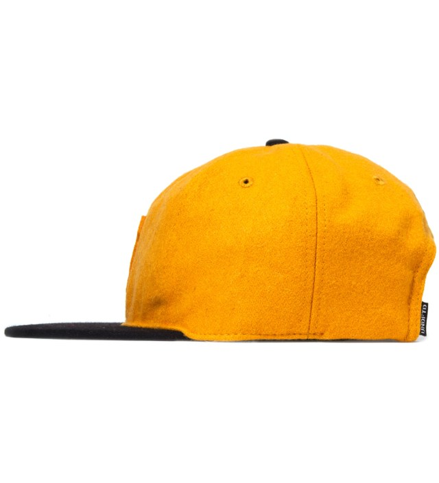 Gold Raised U Ebbets Ballcap