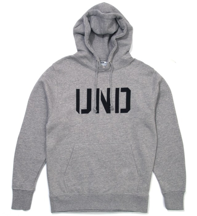 Heather Grey UND Hoodie
