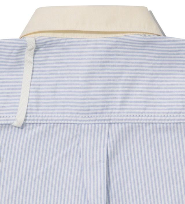 Saxe Stripe Oxford Shirt