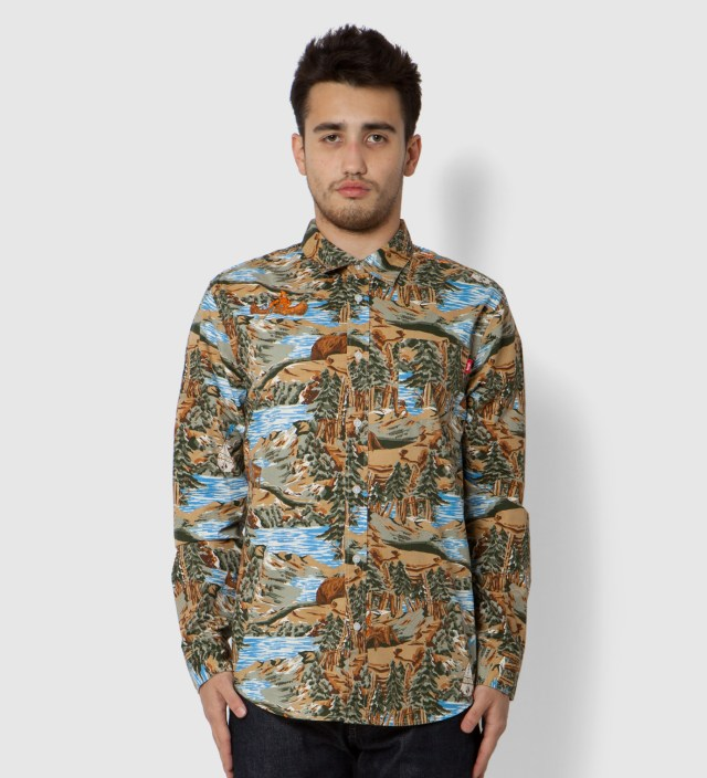 Brown Frontier Shirt