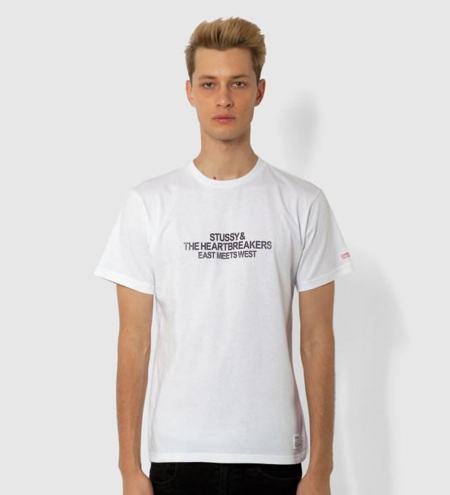 Stussy x The Heartbreakers White Marcelo Print T-Shirt