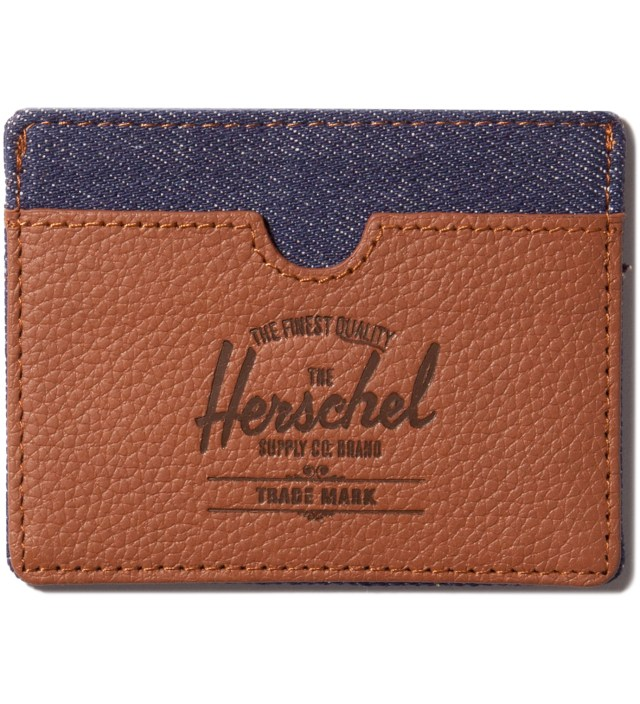 Dark Denim Charlie Card Holder