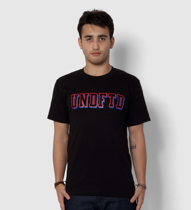 Black SS UNDFTD Block T-Shirt