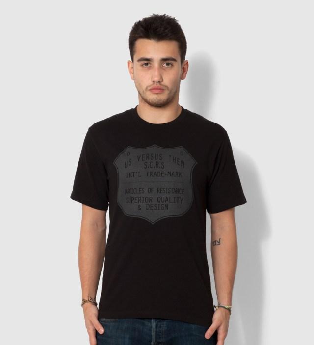 Black Superior Seal T-Shirt