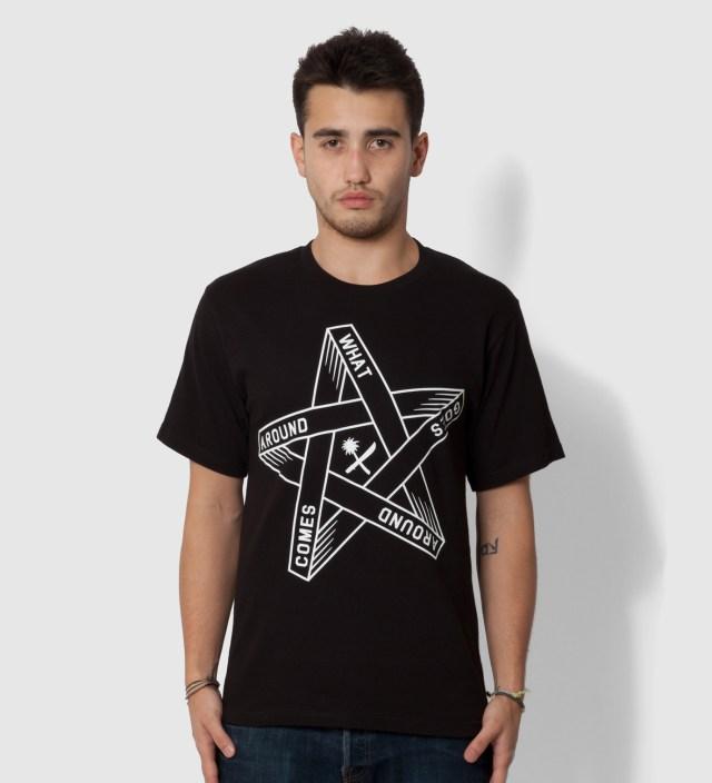 Black Goes Around T-Shirt