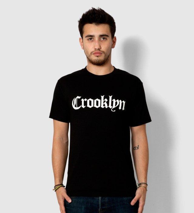 Black Crooklyn T- Shirt