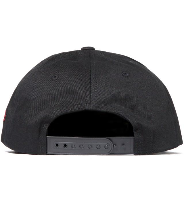 Black and Black Redrum Snapback Hat
