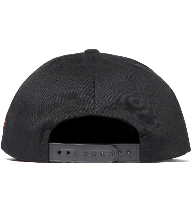 Black Crooklyn Snapback Hat