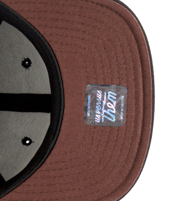 Black Aware Snapback Ballcap